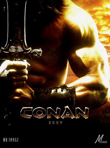 Teaser póster de Conan (2009)